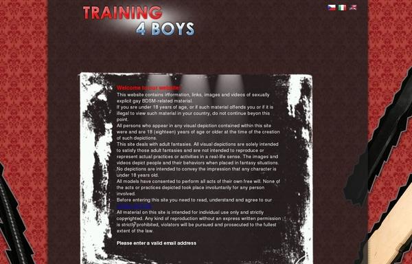 Acc Training 4 Boys