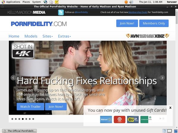 Account On Porn Fidelity