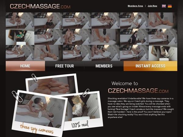Czech Massage Passcodes