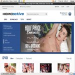 Daily Homoactive Downloads Account