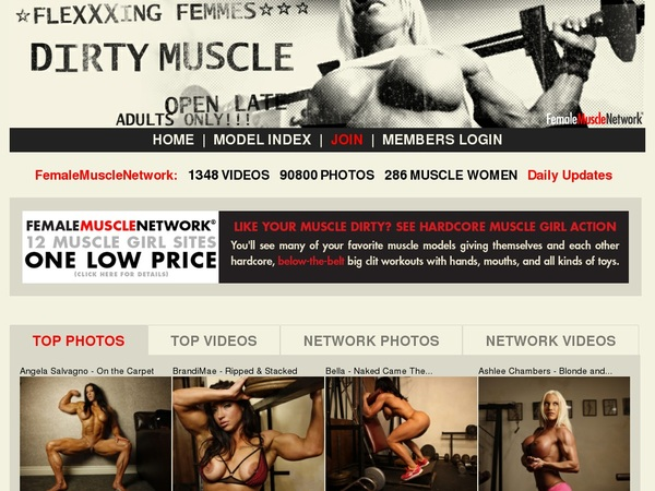 Dirtymuscle.com Password Account
