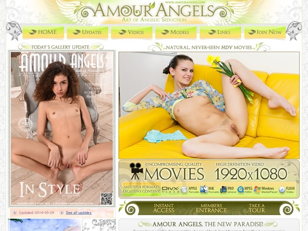 Free Account To Amourangels.com