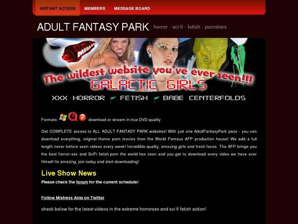 Free Accounts In Adultfantasypark