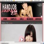 Handjob Japan Sing Up
