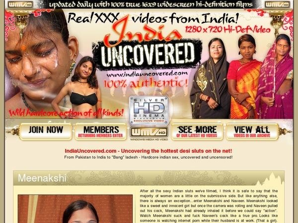 India Uncovered Free Porn