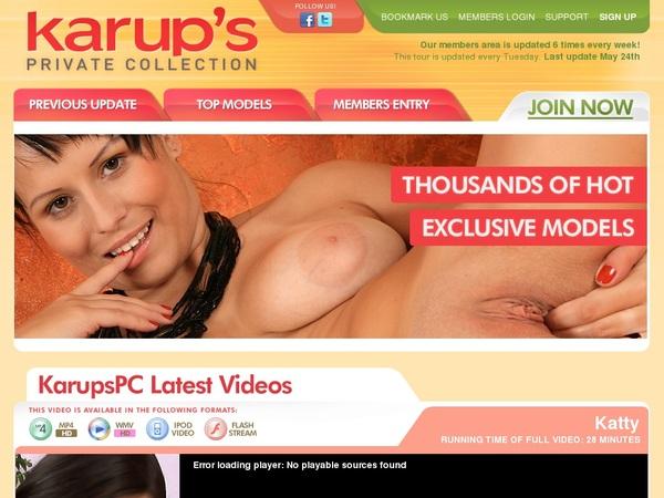 Karups PC Register