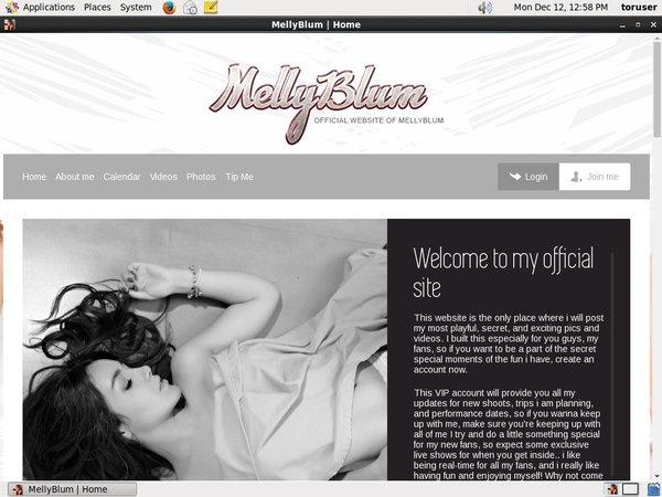 Melly Blum Pass