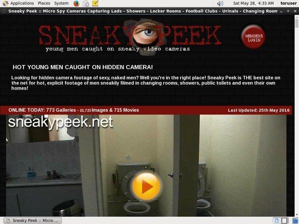 Sneakypeek.net Free Login
