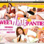 Sweet White Panties List