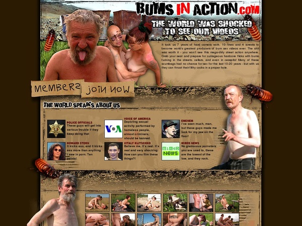 Bums In Action Free Premium Account