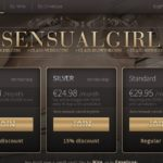Sensual Girl With Sliiing