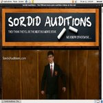 Sordid Auditions Promotion