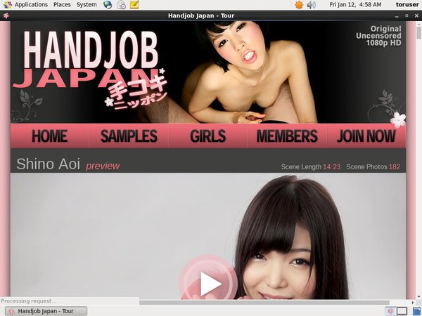 Handjob Japan With Discover Card