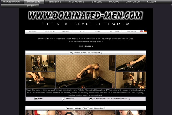 Dominatet Men Promotion