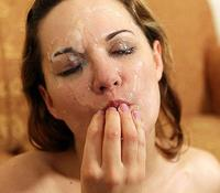 Nasty Little Facials cumshot