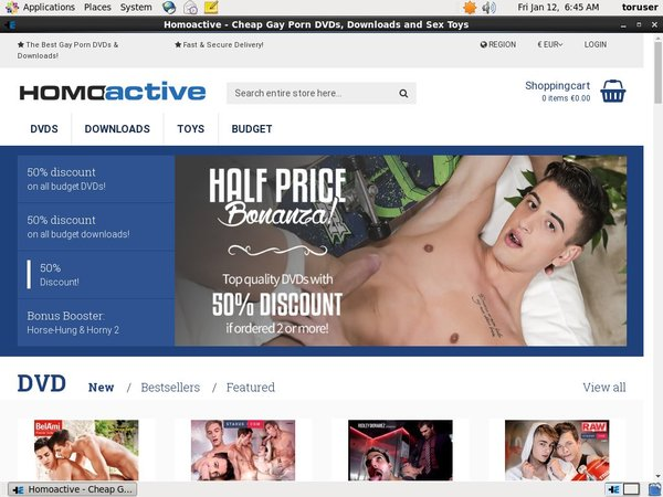 Homoactive Tgp