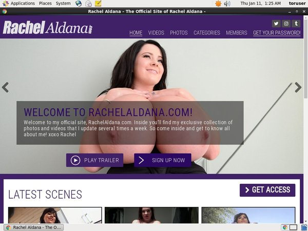 Rachelaldana Free Passwords