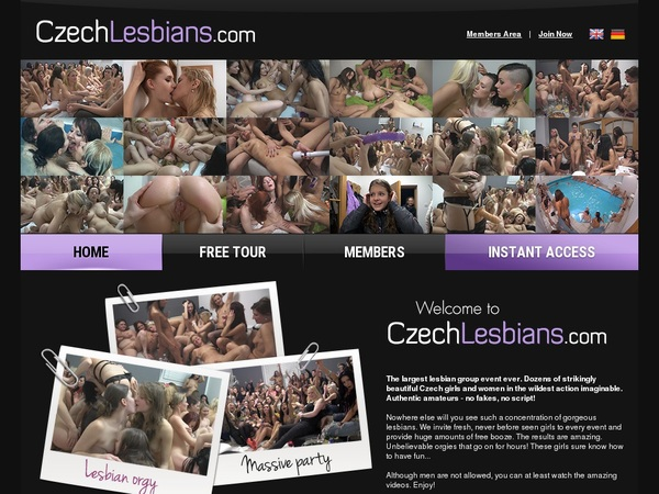Czech Lesbians Wachtwoord