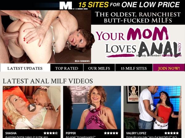 Yourmomlovesanal.com Free Premium