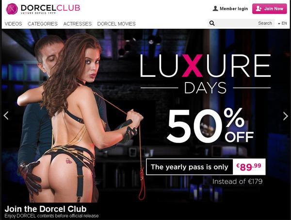 Accounts To Dorcel Club