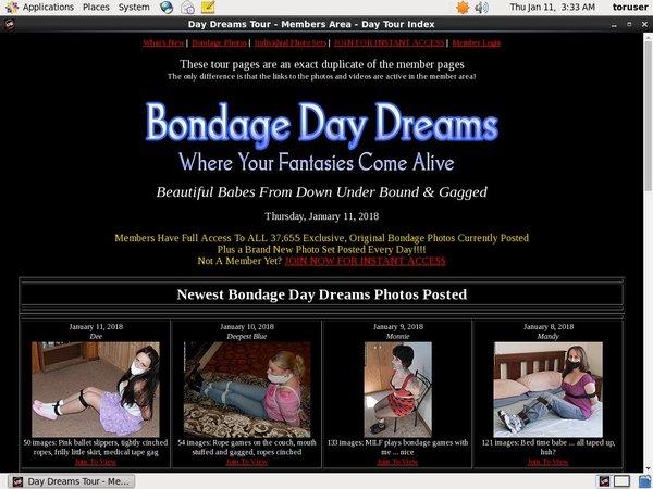 Bondage Daydreams Account New