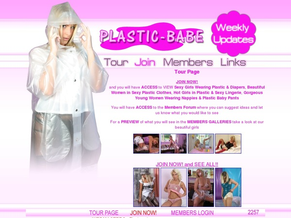 Plastic Babe Password Info