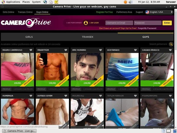 Get Free Cameraprive Account